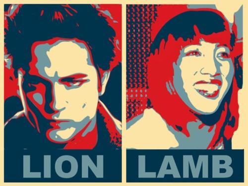 lawn-lamb