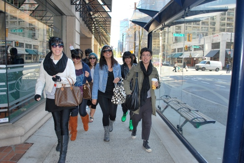 STOMPING THE STREETS OF VANCITY!