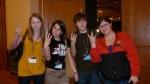 Kimmy (HisGoldenEyes), Mel (MSquared), Kaleb (TwilightGuy/KalebNation), Becka (Twicon)
